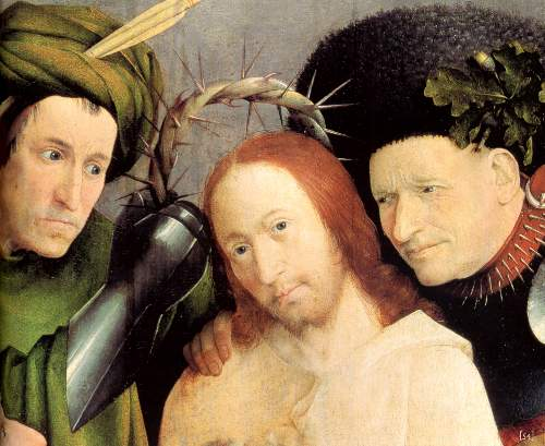 Christ crowned with thorns [2] by Bosch